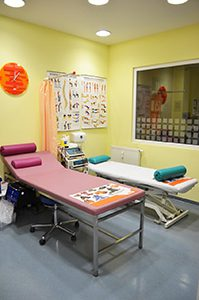Blick ins Behandlungszimmer